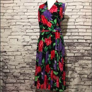 Lauren Ralph Lauren Multicolored Floral Dress
